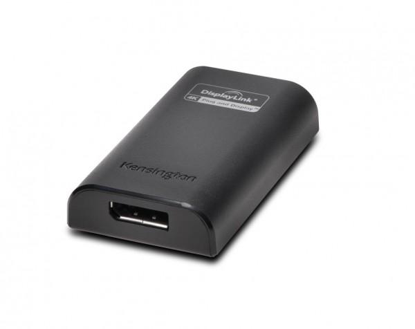 Kensington VU4000D 4K Adapter USB 3.0 to DP, K33989WW